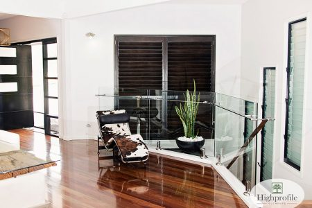 4. Timber Stained Shutters Rockhampton & Sunshine Coast